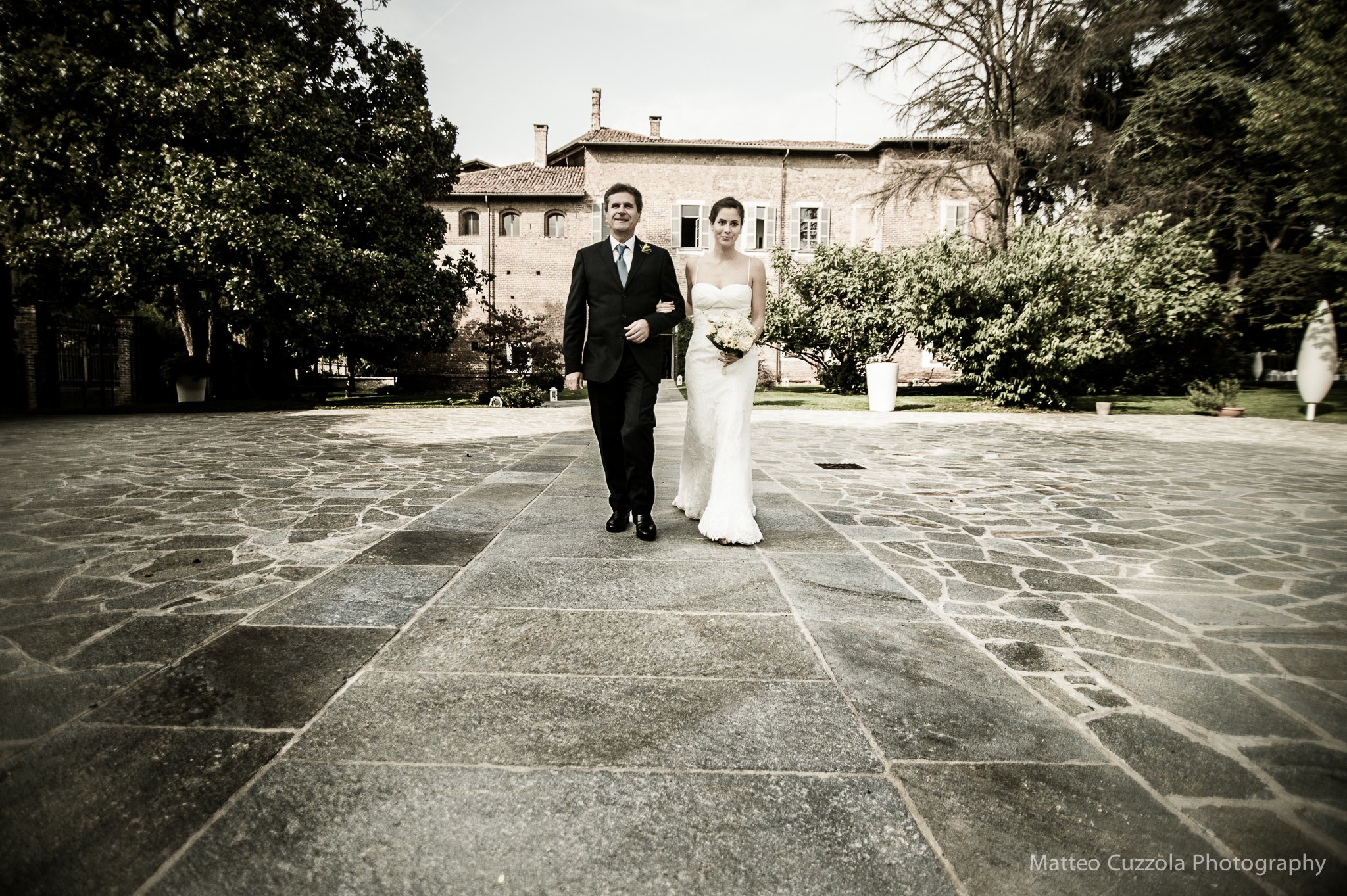 wedding in a castle, Italy