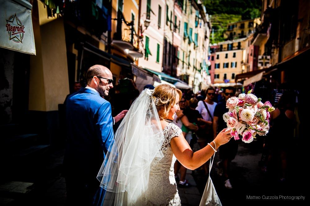 Fotografo matrimonio Vernazza