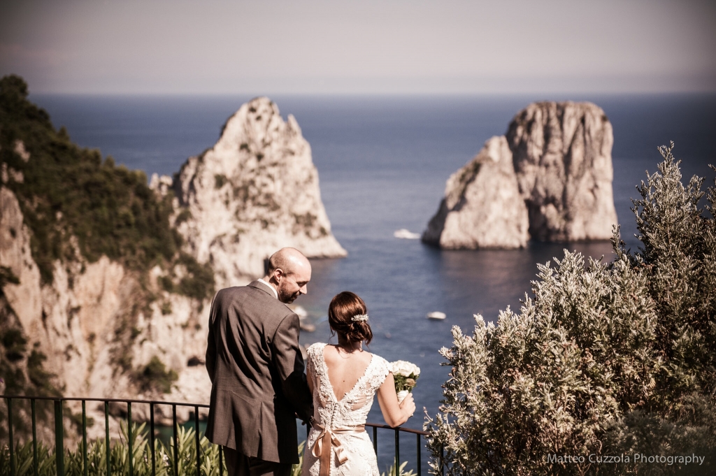 wedding photographer capri faraglioni