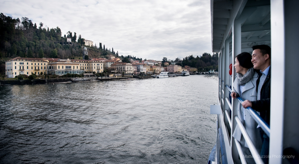 Engagement in Bellagio and Varenna Lake Como