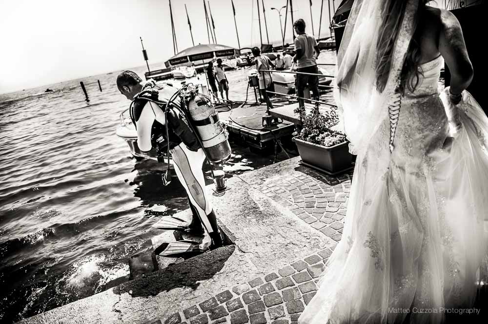 Wedding photographer lake Garda