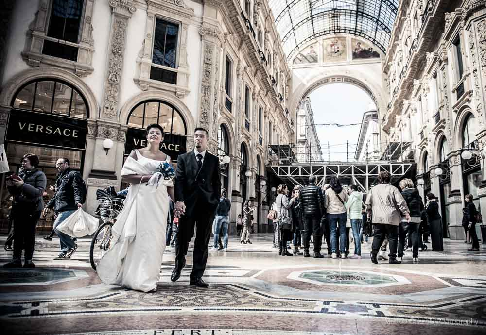wedding photographer milan palazzo reale