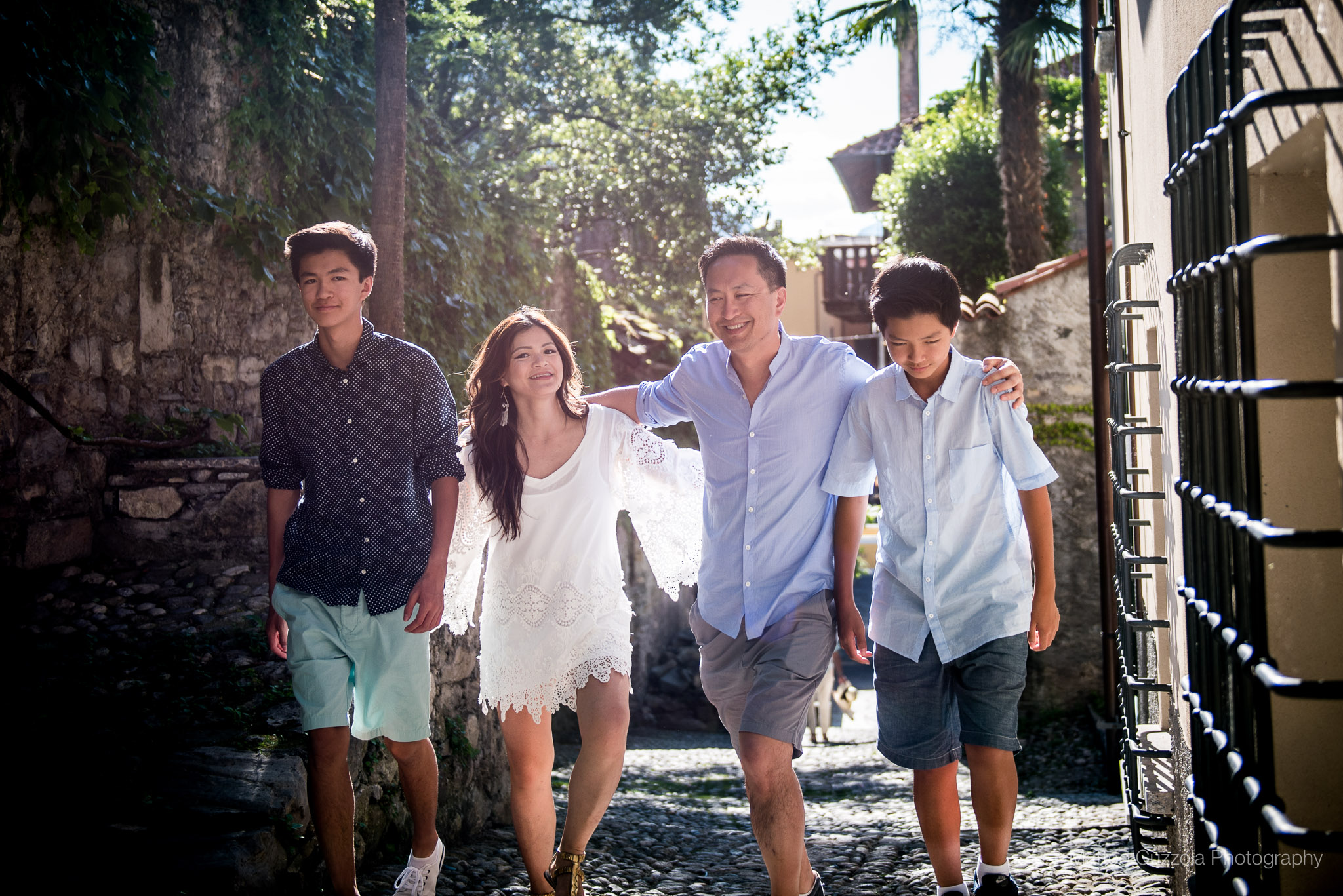 family portrait photographer lake como