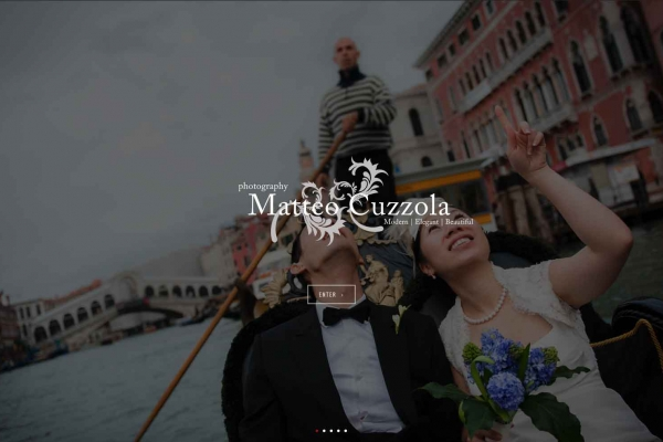 wedding photographer in Italy website