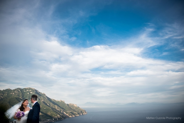 wedding in villa cimbrone ravello