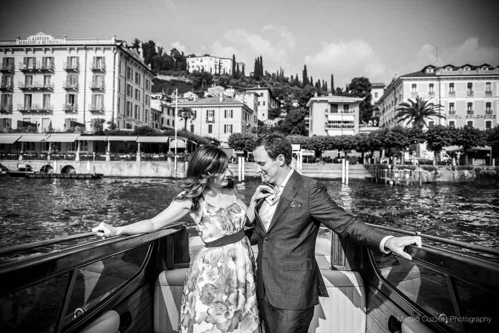 On the boat engagement photographer lake como 33