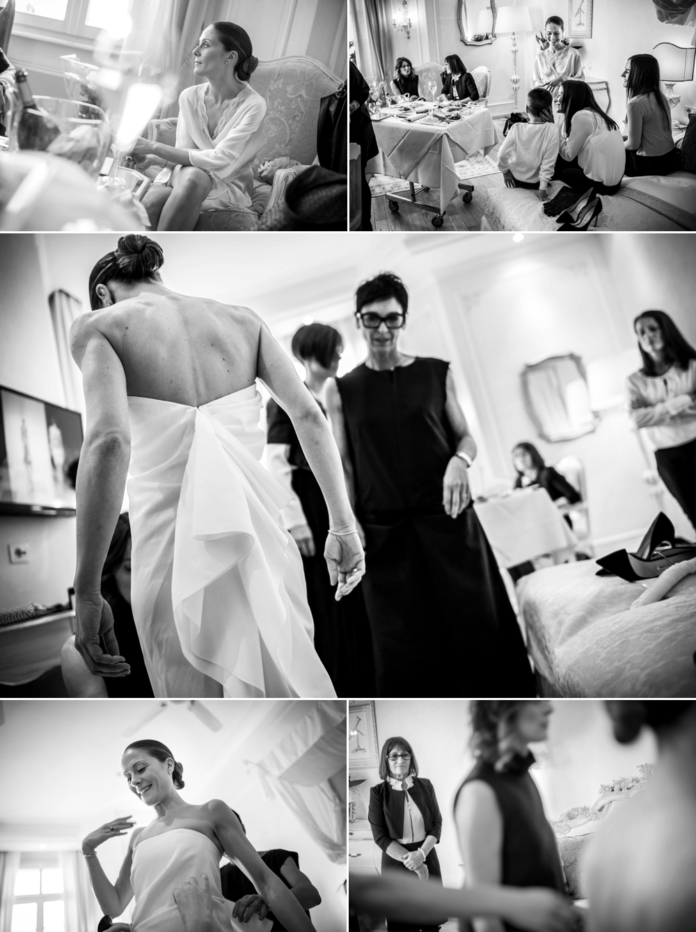 bride preparation hotel fasano lake garda