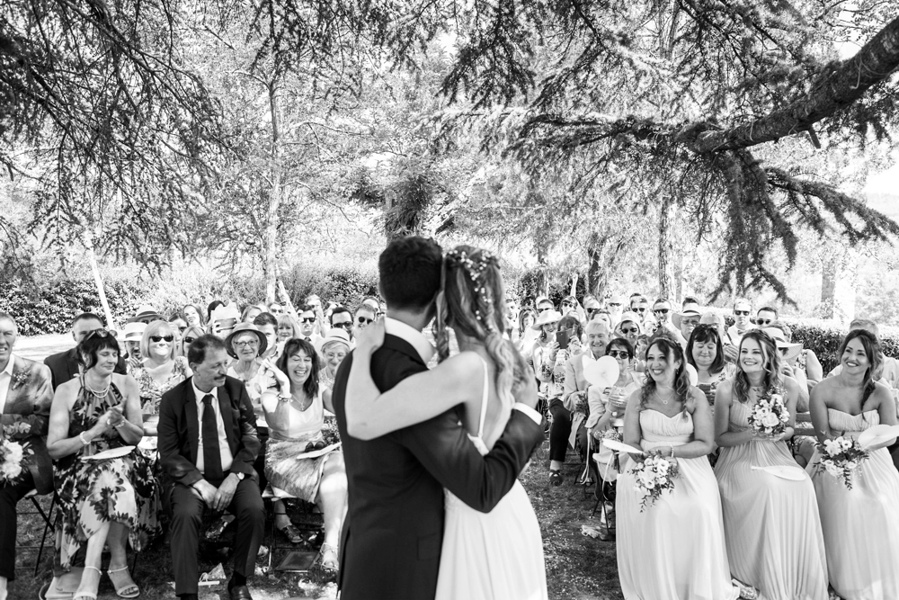 wedding photographs in tuscany