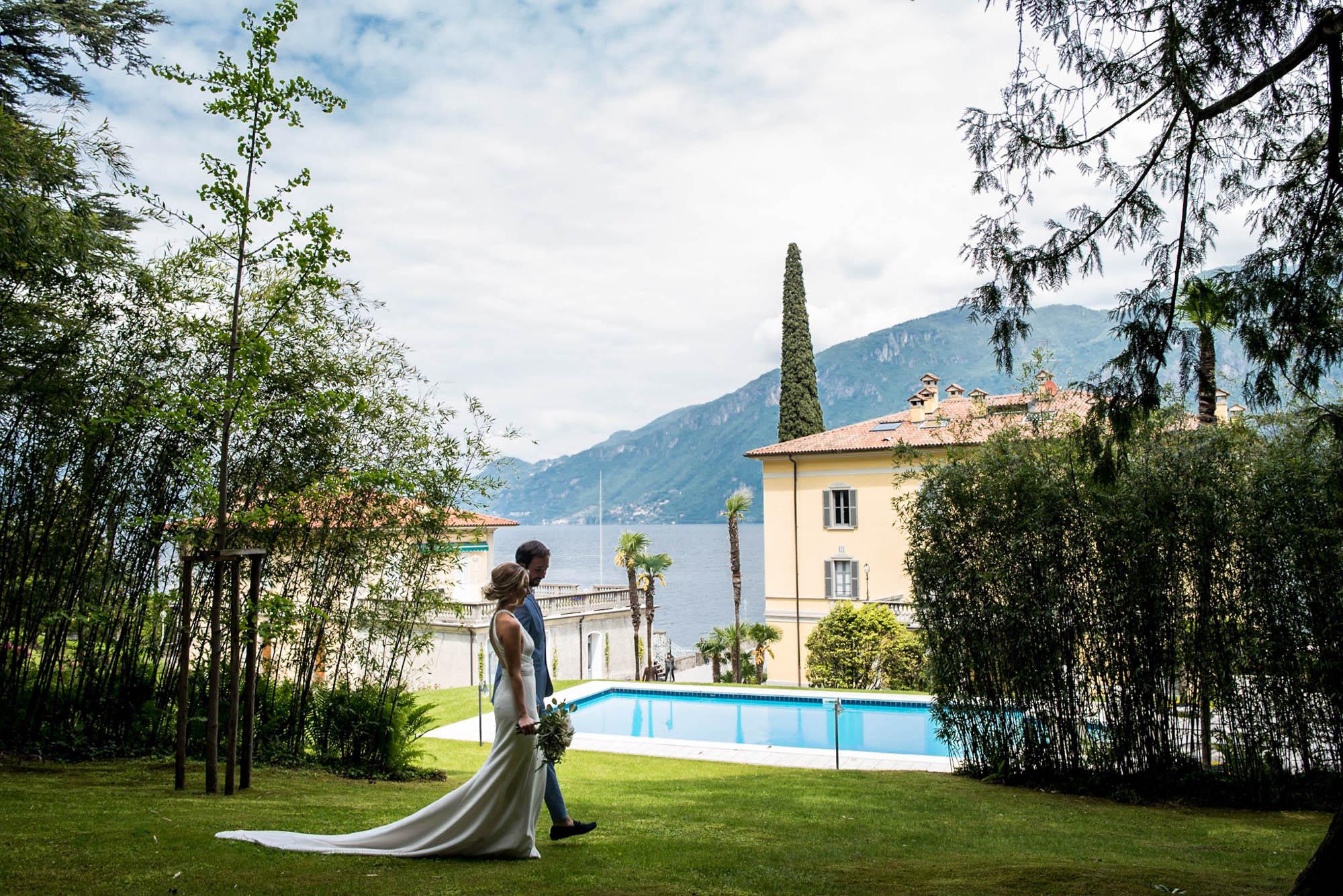 cerimonia matrimonio villa aura del lago di como