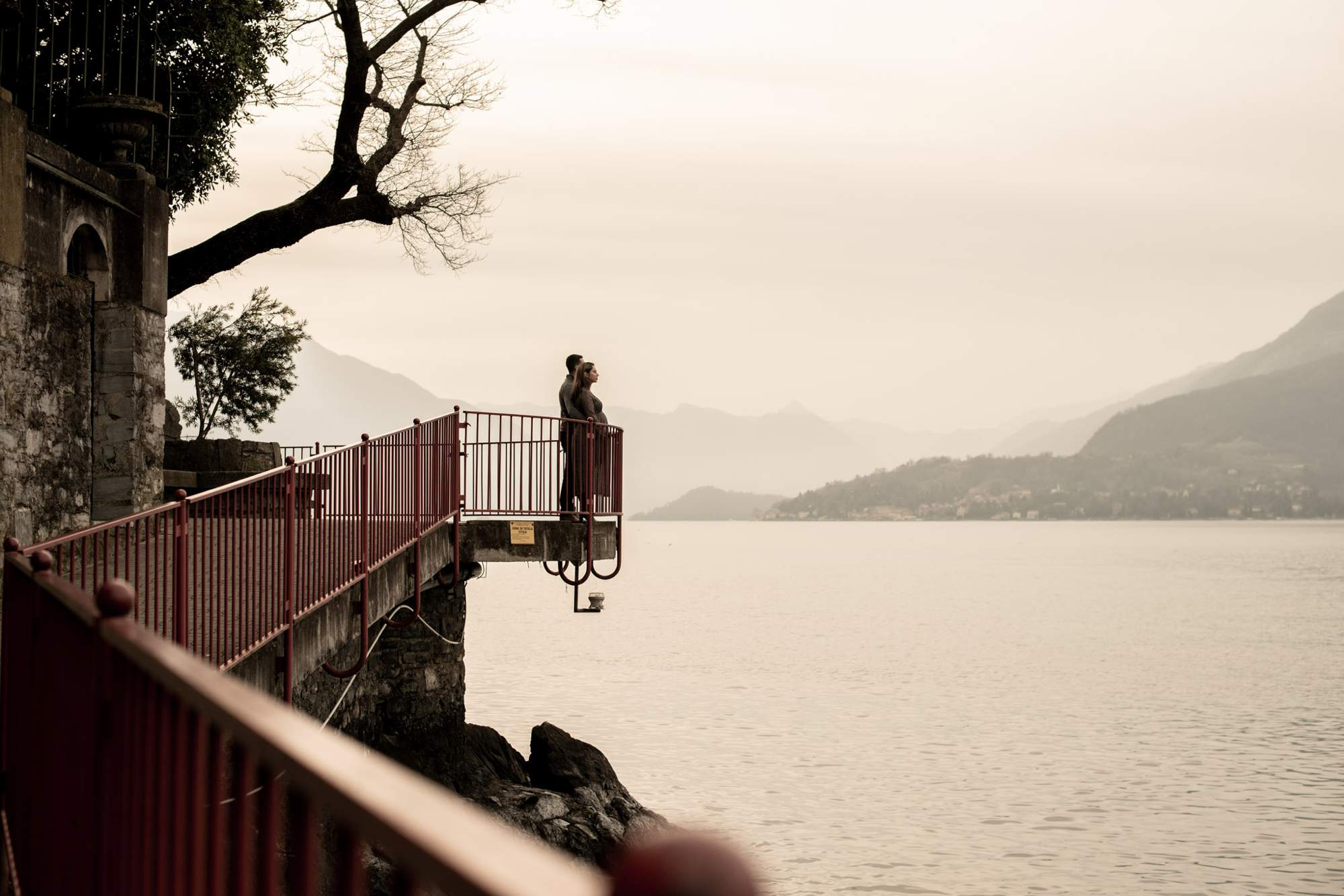 babymoon shooting lake como