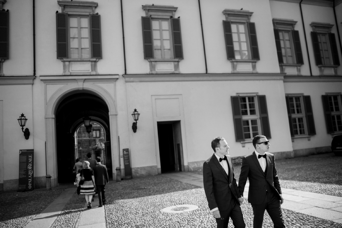 gay wedding milan italy